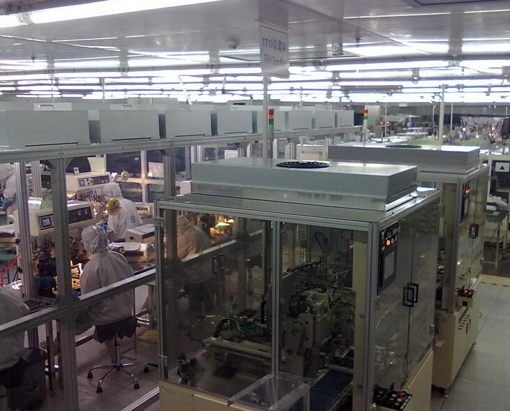 百级/100级钢化玻璃板洁净棚
