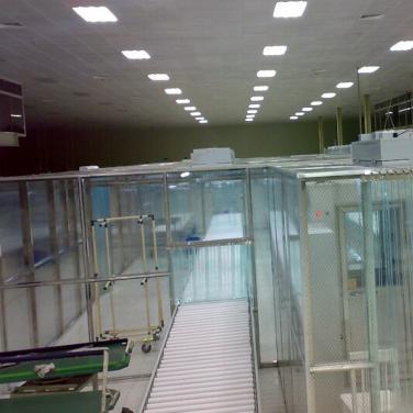万级/10000级防静电网格帘洁净棚