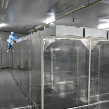 百级/100级防静电网格帘洁净棚